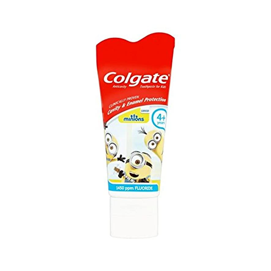 ストレスの多い大学院同様に手下の子供4+歯磨き粉50ミリリットル (Colgate) (x 6) - Colgate Minions Kids 4+ Toothpaste 50ml (Pack of 6) [並行輸入品]