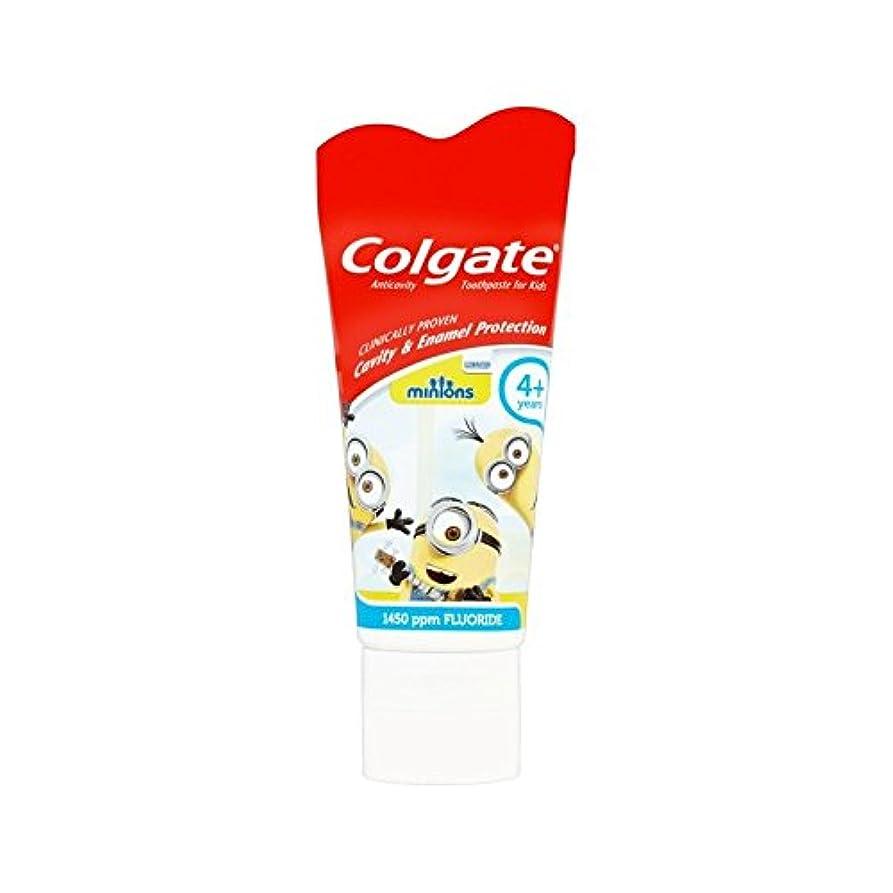 海上ポジションスロープ手下の子供4+歯磨き粉50ミリリットル (Colgate) - Colgate Minions Kids 4+ Toothpaste 50ml [並行輸入品]