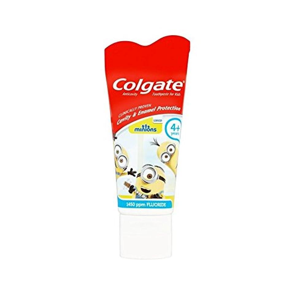 構造的プレフィックストリッキー手下の子供4+歯磨き粉50ミリリットル (Colgate) (x 6) - Colgate Minions Kids 4+ Toothpaste 50ml (Pack of 6) [並行輸入品]