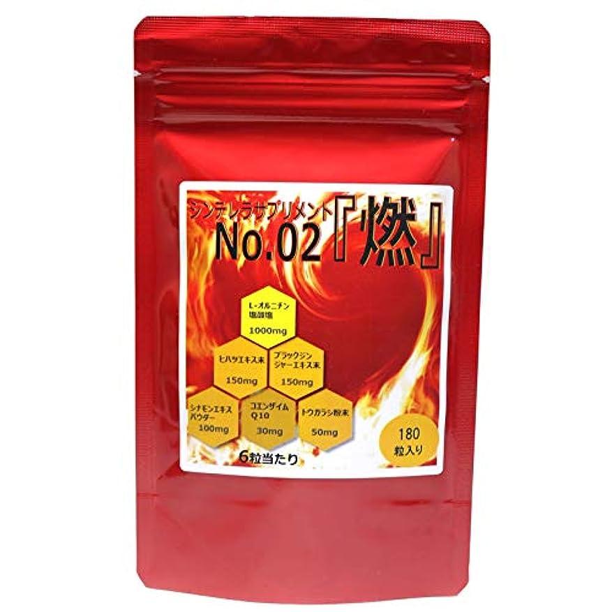 オンス鼓舞する脆い薬剤師が新開発! 燃焼系 ダイエット サプリ シンデレラサプリメントシリーズ No.02『燃』