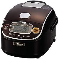 象印 炊飯器 圧力IH式 3合 極め炊き プラチナ厚釜 ダークブラウン NP-RY05-TD