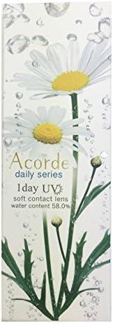 アコルデ(Acorde) カラコン ワンデー -1.00 Color:デイリーブライトブラウン 10枚入り 9M00M0100000009O
