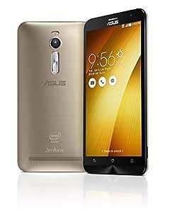 【国内正規品】ASUSTek ZenFone2 ( SIMフリー / Android5.0 / 5.5型ワイド / デュアルmicroSIM / LTE ) (ゴールド, 4GB/64GB) ZE551ML-GD64S4