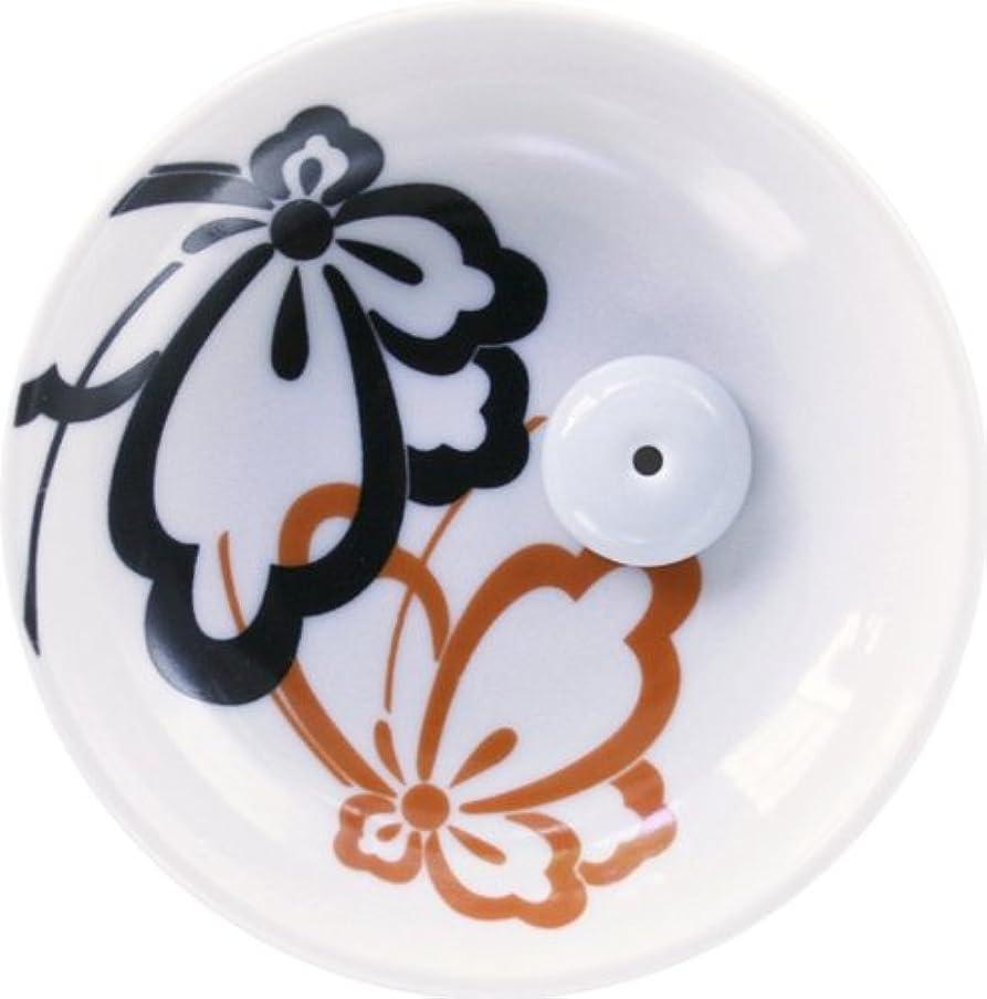 エイリアンによるとシェル縁(ゆかり) 香立&香皿 蝶紋