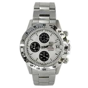 ELGIN (エルジン) 腕時計 クロノグラフ FK1184S-W メンズ