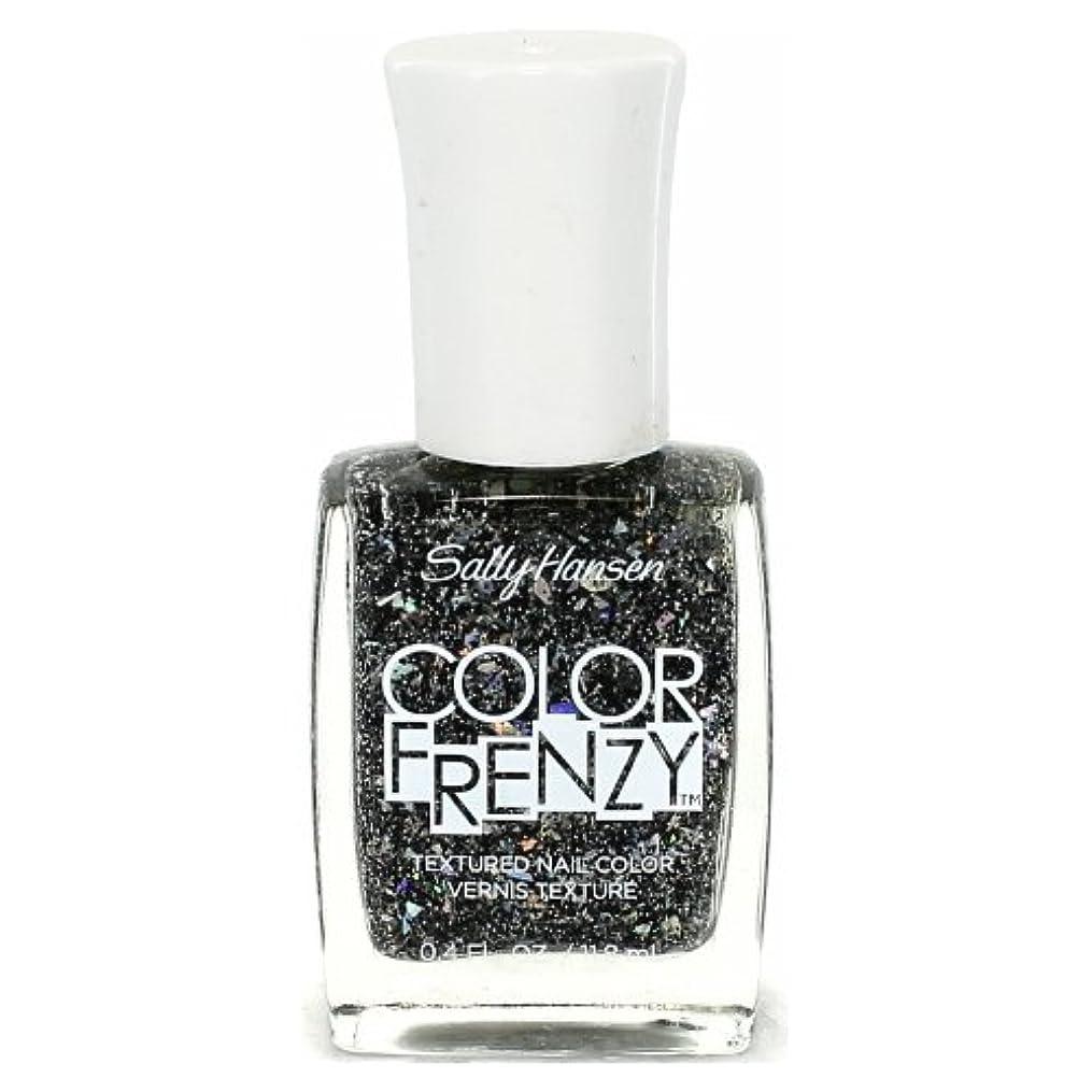 寛大さ洗練されたギャラントリー(6 Pack) SALLY HANSEN Color Frenzy Textured Nail Color - Spark & Pepper (並行輸入品)