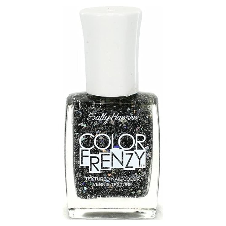 女の子呼吸ましい(6 Pack) SALLY HANSEN Color Frenzy Textured Nail Color - Spark & Pepper (並行輸入品)