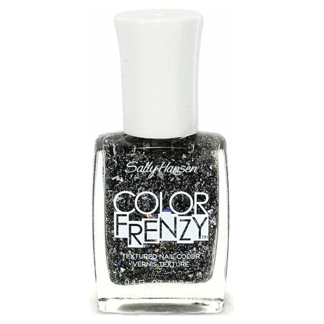 パイプ美しい起きる(6 Pack) SALLY HANSEN Color Frenzy Textured Nail Color - Spark & Pepper (並行輸入品)
