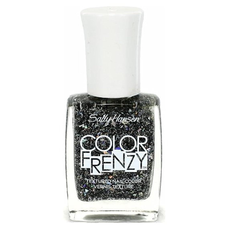 機会錫含む(6 Pack) SALLY HANSEN Color Frenzy Textured Nail Color - Spark & Pepper (並行輸入品)