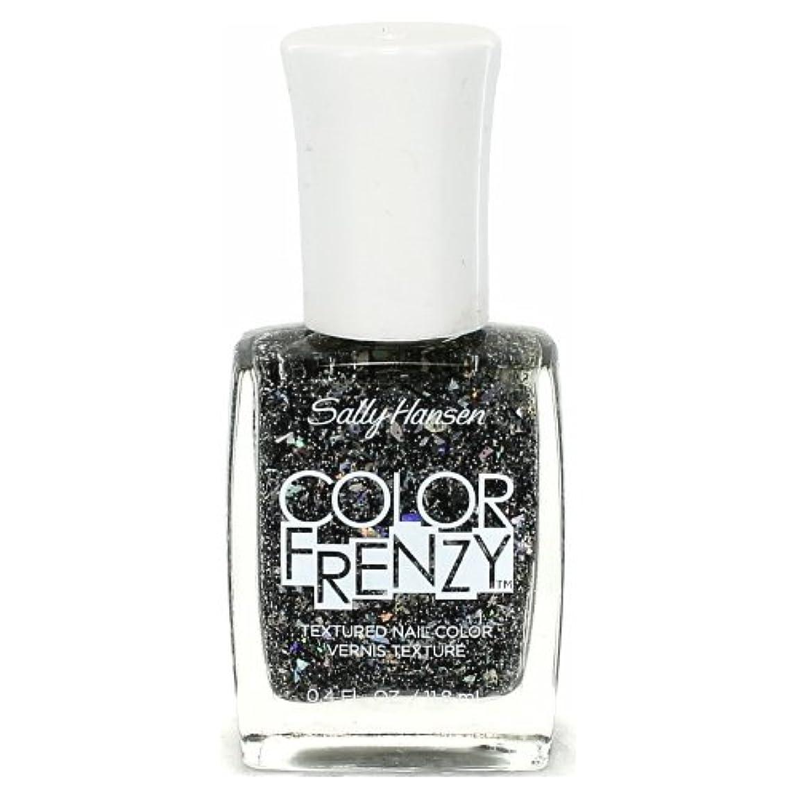 民間人最小サラミ(6 Pack) SALLY HANSEN Color Frenzy Textured Nail Color - Spark & Pepper (並行輸入品)
