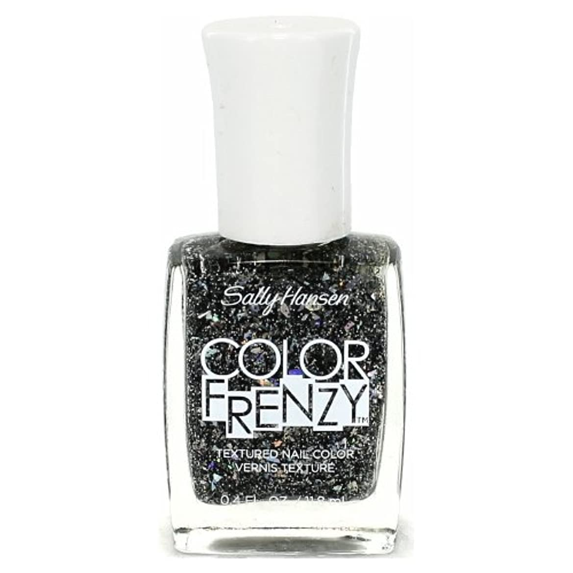 書士完了観察する(3 Pack) SALLY HANSEN Color Frenzy Textured Nail Color - Spark & Pepper (並行輸入品)