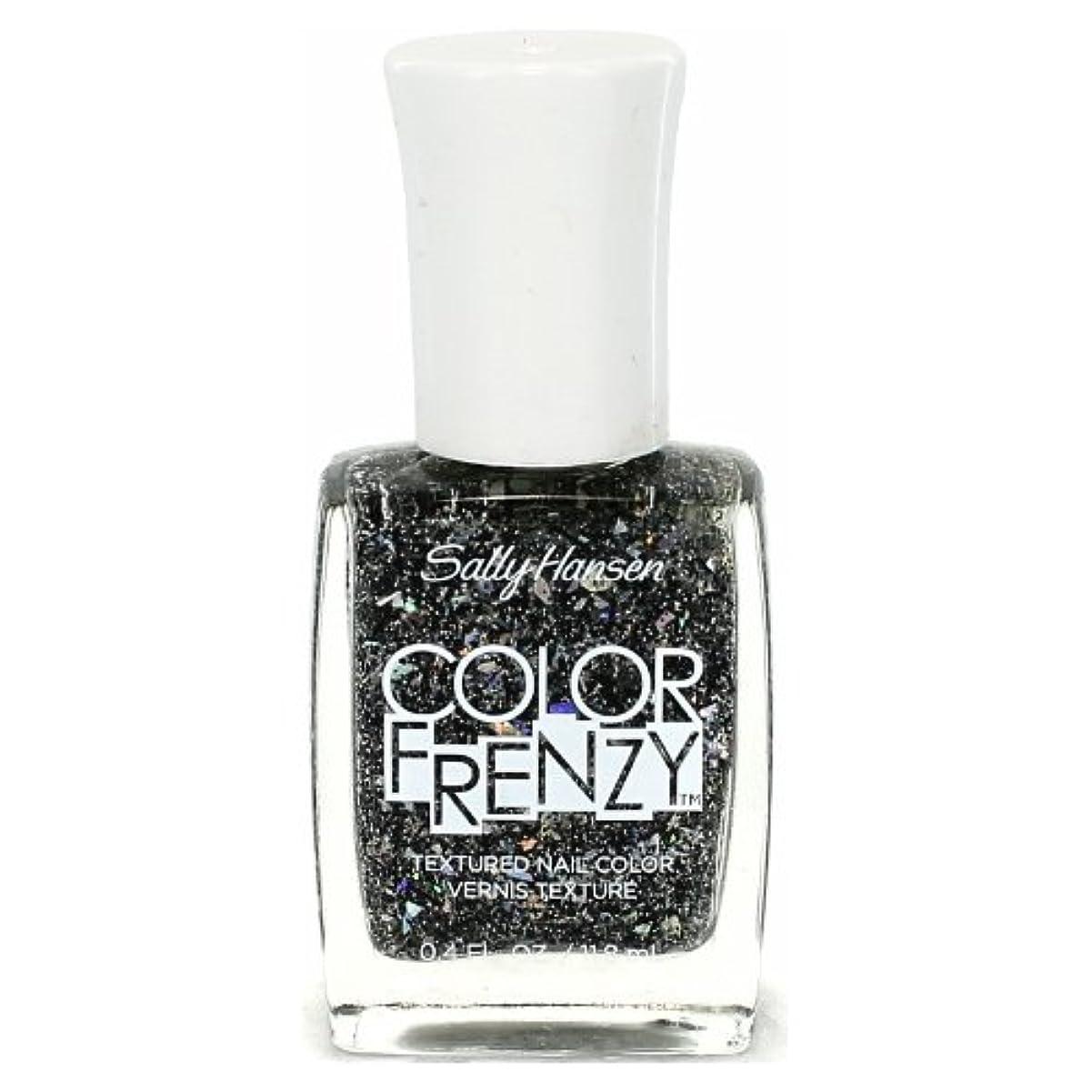ボリュームあご蛾(3 Pack) SALLY HANSEN Color Frenzy Textured Nail Color - Spark & Pepper (並行輸入品)