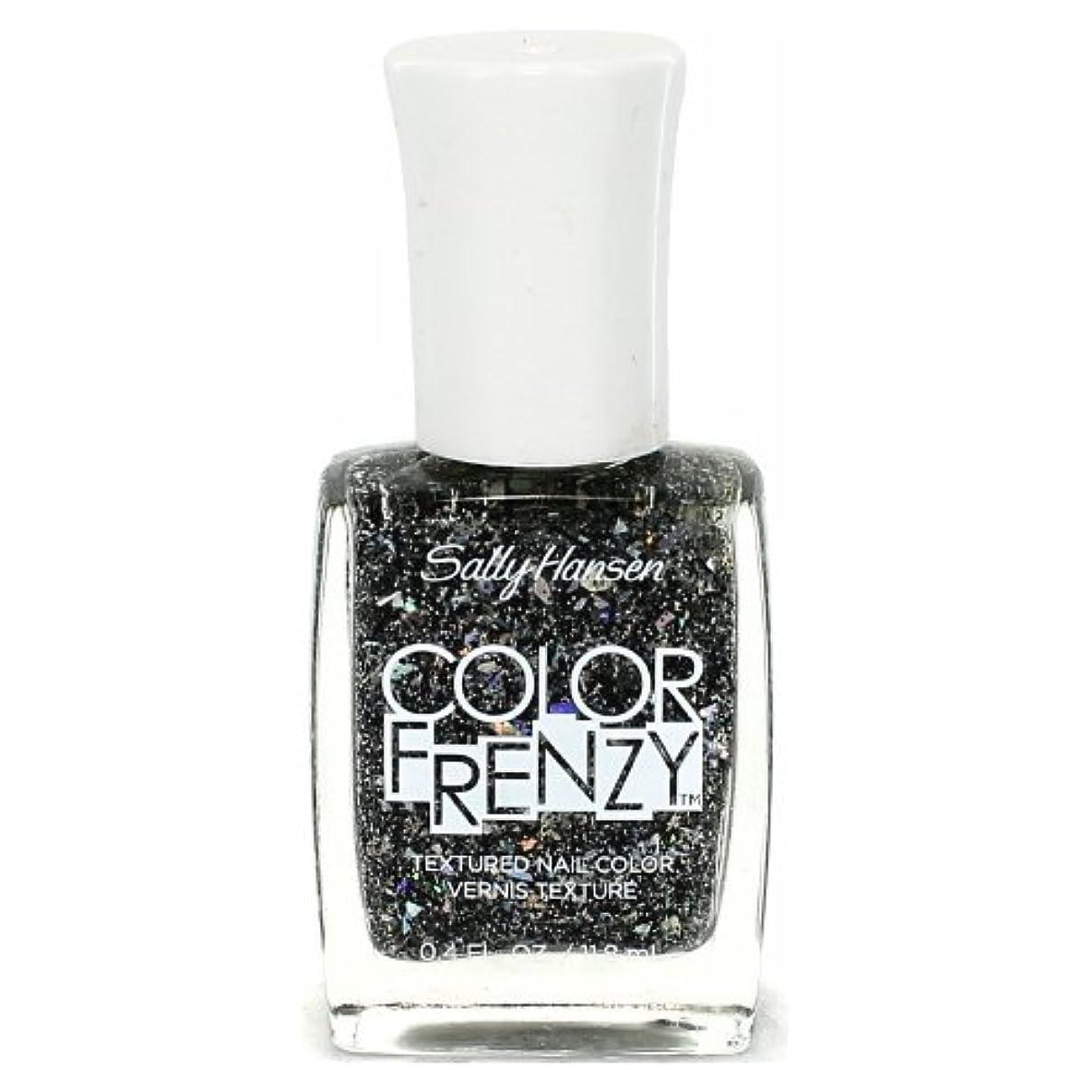 血統寛解不規則な(3 Pack) SALLY HANSEN Color Frenzy Textured Nail Color - Spark & Pepper (並行輸入品)