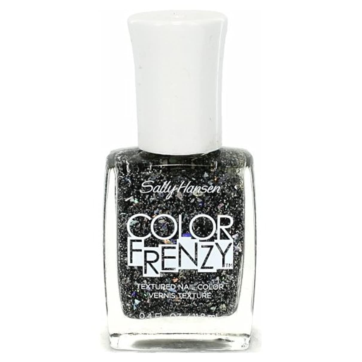 定説クロール郵便番号(6 Pack) SALLY HANSEN Color Frenzy Textured Nail Color - Spark & Pepper (並行輸入品)