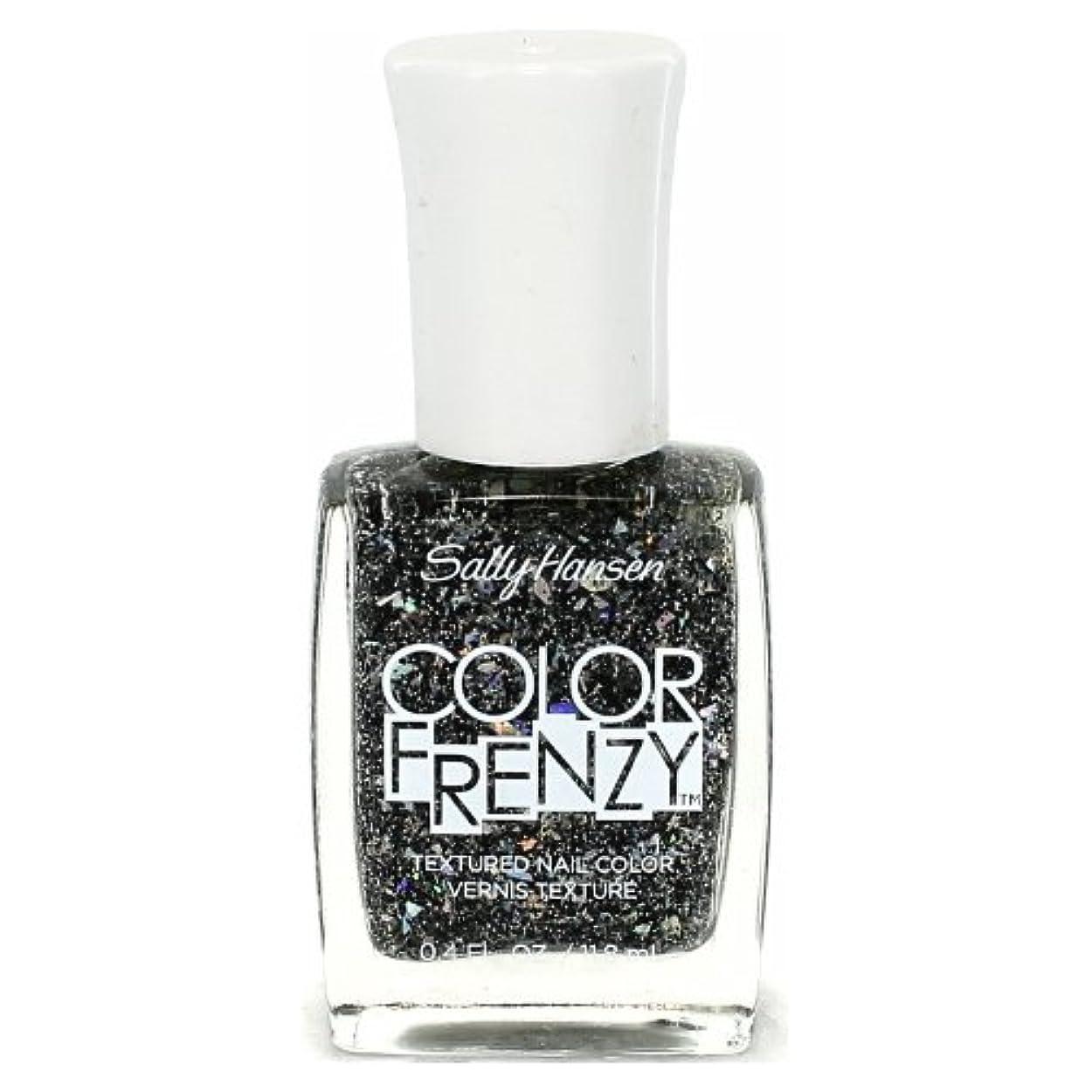 醸造所インサート悪党(6 Pack) SALLY HANSEN Color Frenzy Textured Nail Color - Spark & Pepper (並行輸入品)