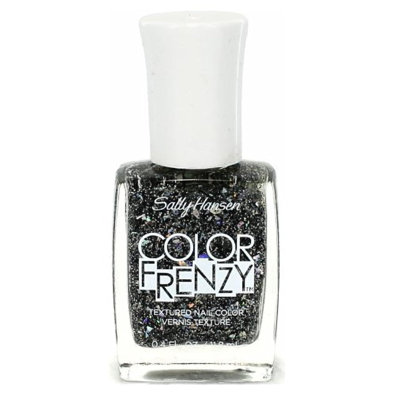 ヘクタール書き込みスパイラル(6 Pack) SALLY HANSEN Color Frenzy Textured Nail Color - Spark & Pepper (並行輸入品)