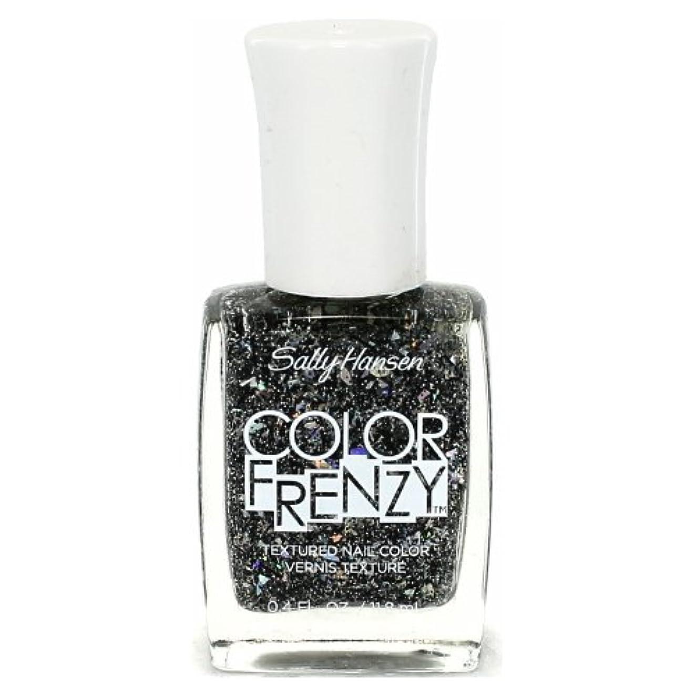 手平等スリンク(3 Pack) SALLY HANSEN Color Frenzy Textured Nail Color - Spark & Pepper (並行輸入品)