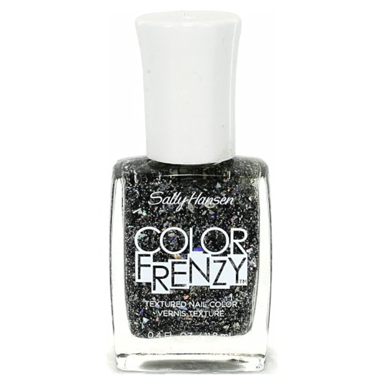 半円蘇生するチャーミング(3 Pack) SALLY HANSEN Color Frenzy Textured Nail Color - Spark & Pepper (並行輸入品)