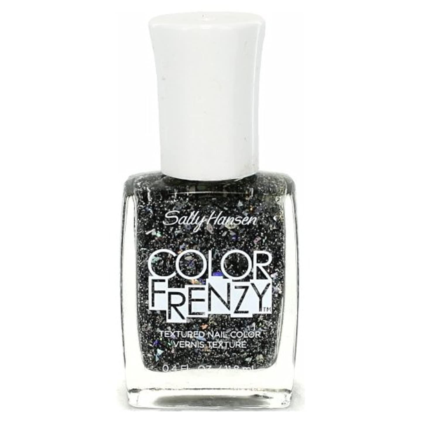 ホテル親愛な右(6 Pack) SALLY HANSEN Color Frenzy Textured Nail Color - Spark & Pepper (並行輸入品)