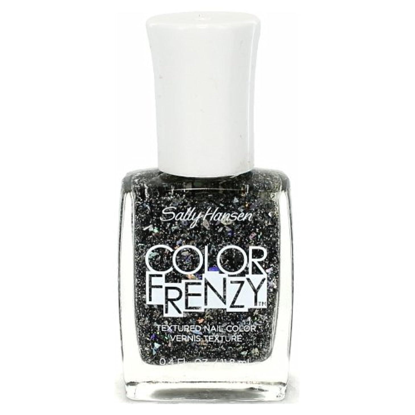 二年生セメントずるい(3 Pack) SALLY HANSEN Color Frenzy Textured Nail Color - Spark & Pepper (並行輸入品)