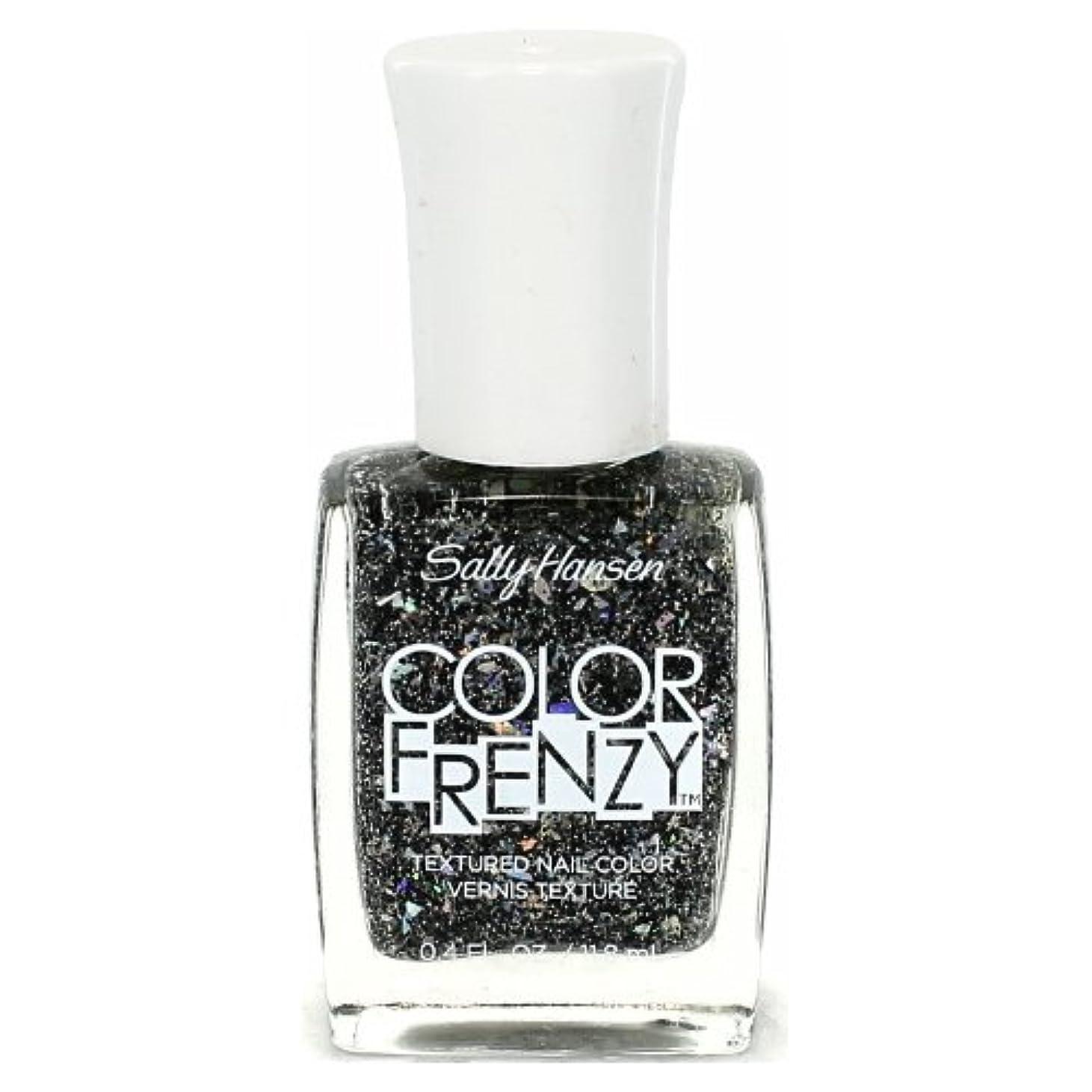 マッサージレンダリングカウント(3 Pack) SALLY HANSEN Color Frenzy Textured Nail Color - Spark & Pepper (並行輸入品)