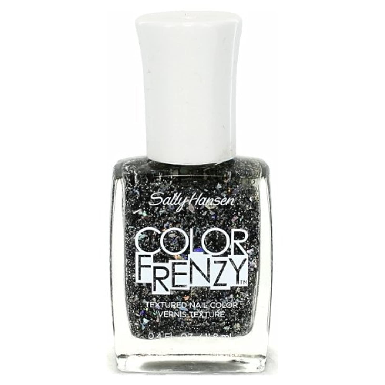 用心レイアウト連鎖(6 Pack) SALLY HANSEN Color Frenzy Textured Nail Color - Spark & Pepper (並行輸入品)