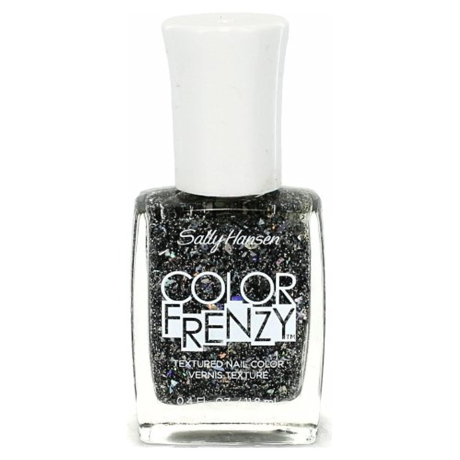 修正するしかしながら衣装(6 Pack) SALLY HANSEN Color Frenzy Textured Nail Color - Spark & Pepper (並行輸入品)