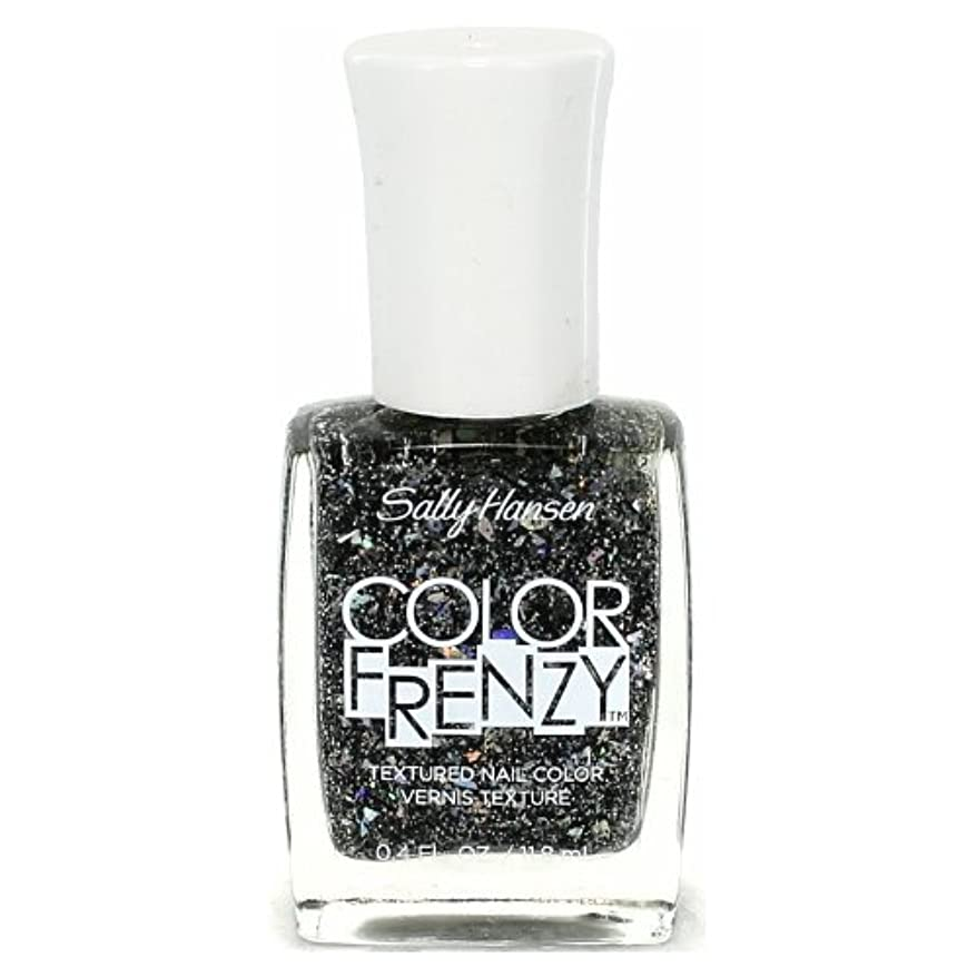 ページェントにおい(6 Pack) SALLY HANSEN Color Frenzy Textured Nail Color - Spark & Pepper (並行輸入品)