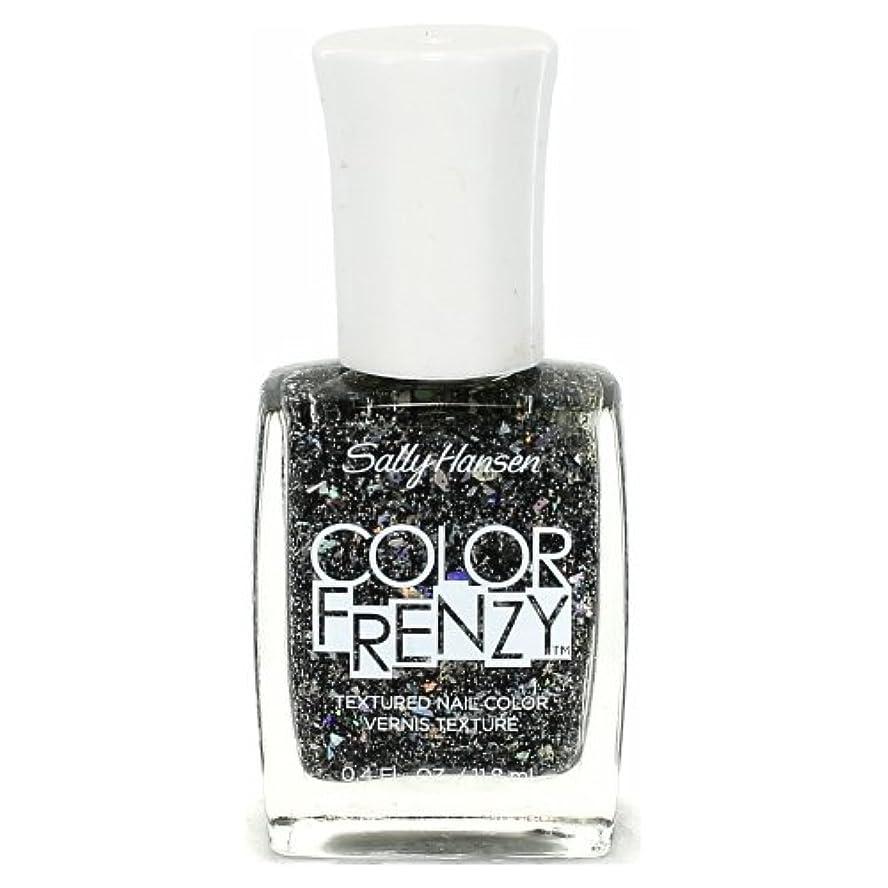 不十分な静めるチチカカ湖(6 Pack) SALLY HANSEN Color Frenzy Textured Nail Color - Spark & Pepper (並行輸入品)