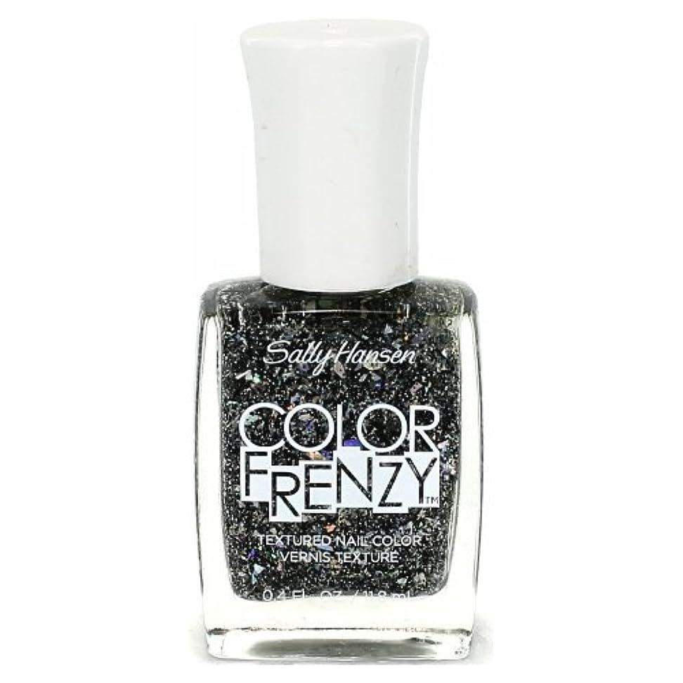 郵便局鈍い業界(6 Pack) SALLY HANSEN Color Frenzy Textured Nail Color - Spark & Pepper (並行輸入品)
