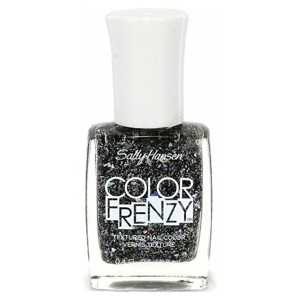 診断する経度増幅する(6 Pack) SALLY HANSEN Color Frenzy Textured Nail Color - Spark & Pepper (並行輸入品)
