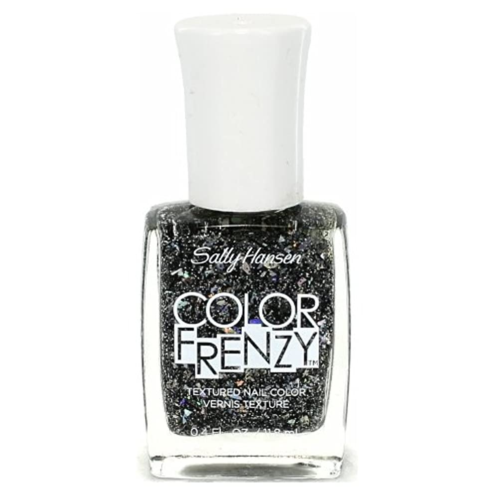 化学薬品楽しませるする(3 Pack) SALLY HANSEN Color Frenzy Textured Nail Color - Spark & Pepper (並行輸入品)