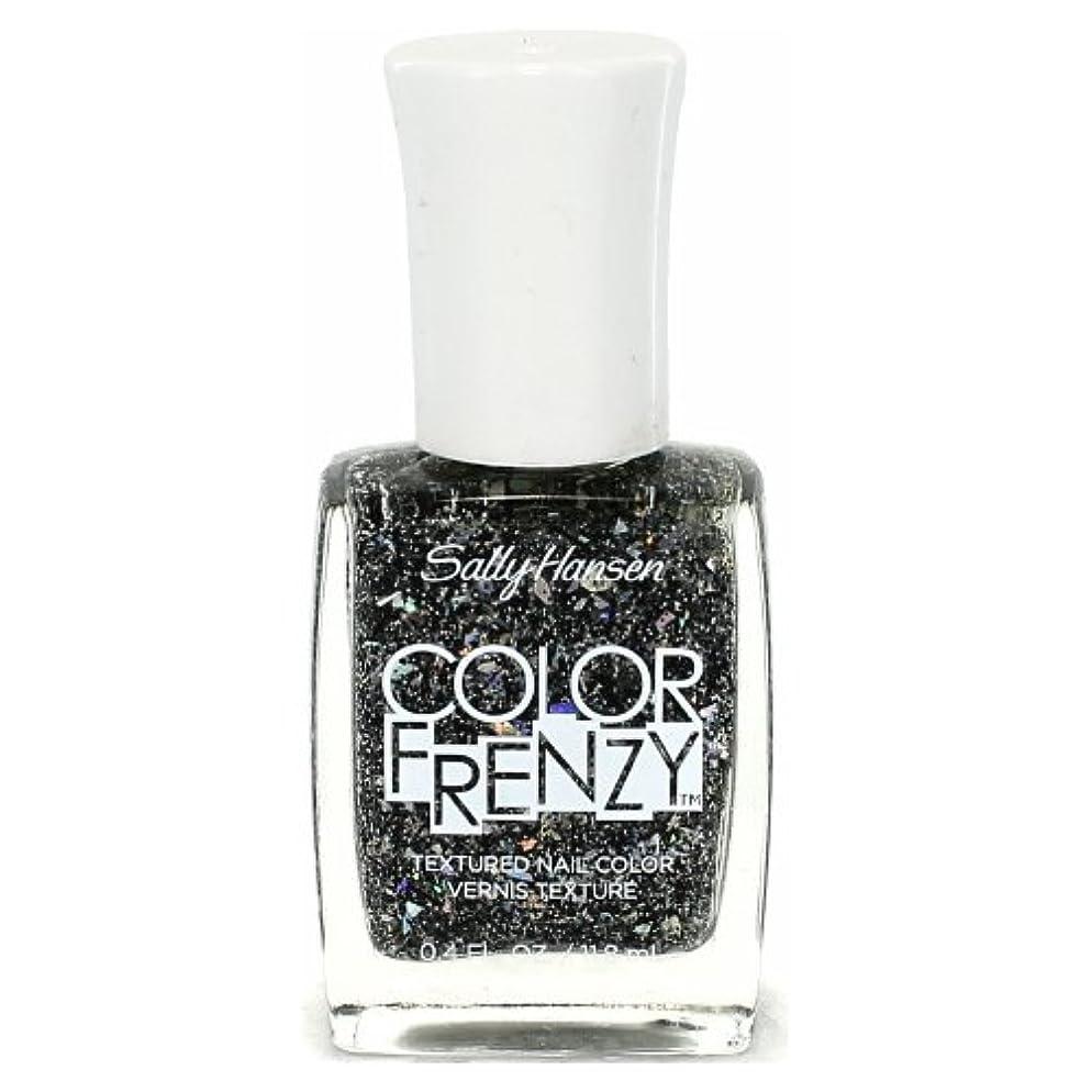 リネン荒廃するステージ(3 Pack) SALLY HANSEN Color Frenzy Textured Nail Color - Spark & Pepper (並行輸入品)