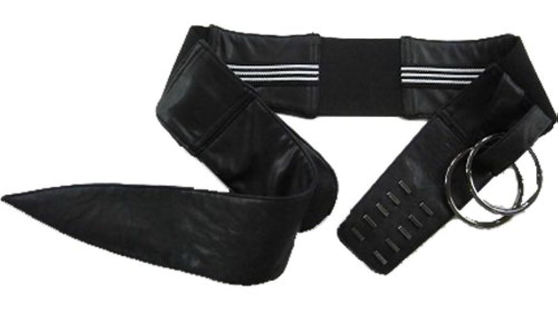 過敏なプログレッシブ信条服の上から骨盤矯正ベルト 2段5列フック&ダブルリング固定式 (M ヒップ87~95cm)