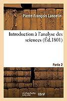 Introduction À l'Analyse Des Sciences Partie 2