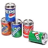 ドールズハウス5ソーダポップ缶ミニチュア1:12メタルパブドリンクショップアクセサリー
