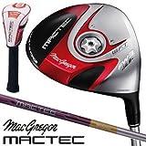 マグレガー ゴルフ マックテック MACTEC SH101 レッド スーパースプーン フェアウェイウッド SH5356F カーボンシャフト 3W/14.5度/S