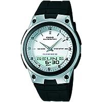 Casio Youth Analog-digital Silver Dial Men's Watch - AW-80-7AV