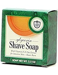 VANDERHAGEN(米) グリセリンソープ シェービングソープ 剃刀負けしにくい 髭剃り用石鹸 (フレッシュ系)