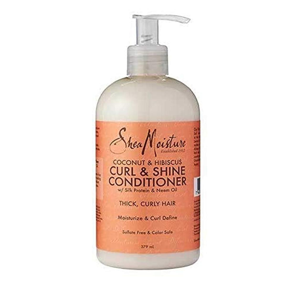[Shea Moisture ] シア水分ココナッツコンディショナー379ミリリットル - Shea Moisture Coconut Conditioner 379ml [並行輸入品]