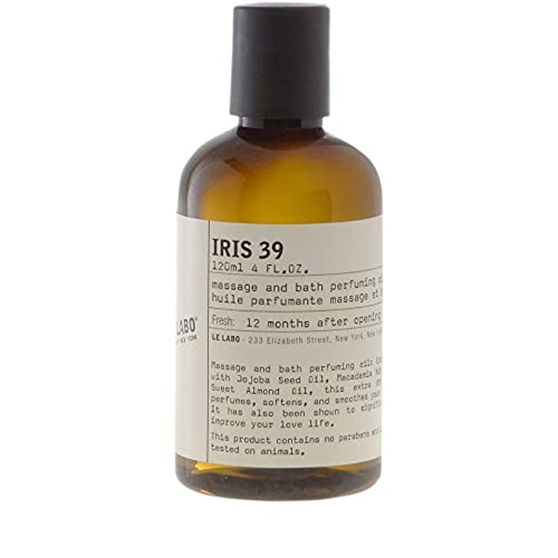 みなす鉄道アームストロング[Le Labo ] ルラボアイリス39ボディオイル118ミリリットル - Le Labo Iris 39 Body Oil 118ml [並行輸入品]