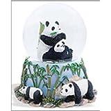 Panda Bears Musical Snow Globe – It 's A Small World
