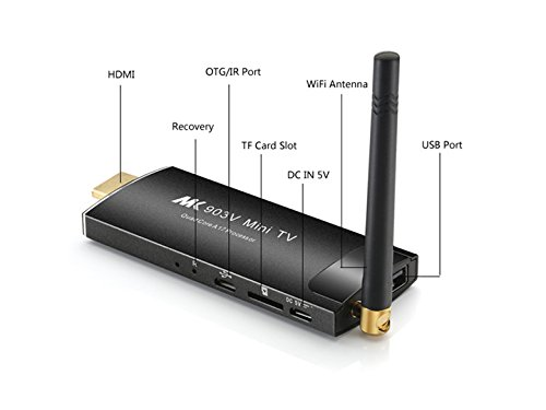 MK903V スティック型PC Android4.4 4K HDMI 日本語説明書付[並行輸入品]