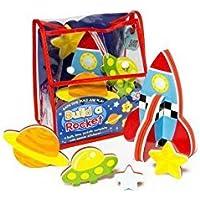 Meadow Kids Build a Rocket Bath Toy [並行輸入品]