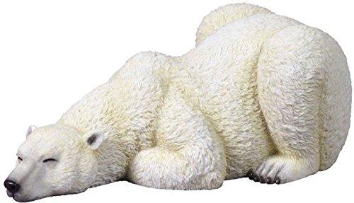 Veronese (ヴェロネーゼ) 眠る野生の白熊 フィギュア 置物