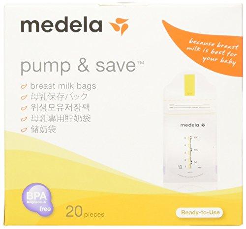 Medela メデラ 母乳 保存 バッグ 150ml (008.0318)