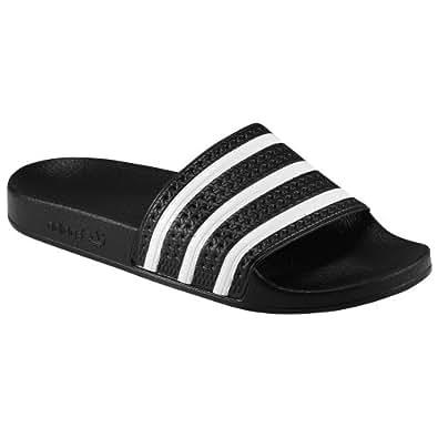 (アディダス)adidas 14.0 Black/White/Black originals オリジナル adilette men's メンズ 男性用 - black ブラック / white 【並行輸入品】