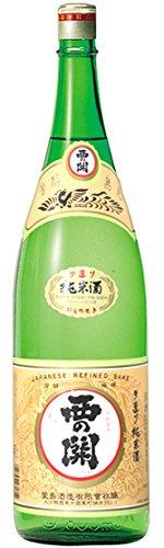西の関 手造り純米酒 [ 日本酒 大分県 1800ml ]