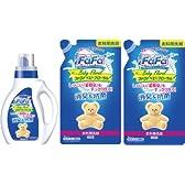 ファーファ 液体洗剤 ベビーフローラル 本体+詰替2個セット