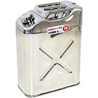 ガレージ・ゼロ ガソリン携行缶 ステンレス 20L 縦型 GZKK08 [消防法適合品]